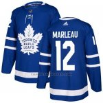 Camiseta Hockey Nino Toronto Maple Leafs 12 Patrick Marleau Azul Home Autentico Stitched