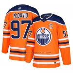 Camiseta Hockey Nino Edmonton Oilers 97 Connor Mcdavid Naranja Home Autentico Fashion Oro Stitched