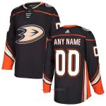 Camiseta Hockey Nino Anaheim Ducks Home Personalizada Negro