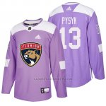 Camiseta Florida Panthers Mark Pysyk Hockey Fights Cancer Violeta