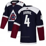 Camiseta Hockey Colorado Avalanche 4 Tyson Barrie Alterno Autentico Azul