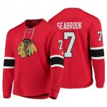 Camiseta Chicago Blackhawks Brent Seabrook Platinum Rojo