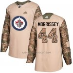 Camiseta Hockey Nino Winnipeg Jets 44 Josh Morrissey Camo Autentico 2017 Veterans Day Stitched