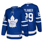 Camiseta Hockey Hombre Toronto Maple Leafs 29 William Nylander Home 2017-2018 Azul