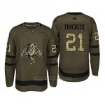 Camiseta Florida Panthers 21 Vincent Trocheck Camo Salute To Service