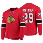 Camiseta Chicago Blackhawks Andreas Martinsen Platinum Rojo