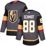 Camiseta Hockey Nino Vegas Golden Knights 88 Nate Schmidt Gris Home Autentico Stitched