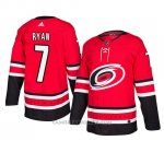 Camiseta Carolina Hurricanes Derek Ryan Autentico Home Rojo