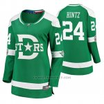 Camiseta Hockey Mujer Dallas Stars Roope Hintz Breakaway Jugador 2020 Winter Classic Verde