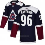 Camiseta Hockey Colorado Avalanche 96 Mikko Rantanen Alterno Autentico Azul