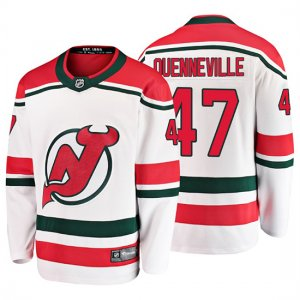 Camiseta New Jersey Devils John Quenneville Alternato Breakaway Blanco