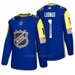 Camiseta Florida Panthers Roberto Luongo 2018 All Star Azul