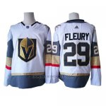 Camiseta Hockey Nino Vegas Golden Knights 29 Marc-andre Fleury Blanco Autentico Stitched