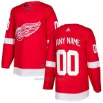 Camiseta Hockey Hombre Detroit Red Wings Primera Personalizada Rojo