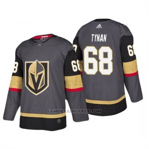 Camiseta Golden Knights Tj Tynan Home Autentico Jugador Gris