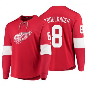 Camiseta Detroit Red Wings Justin Abdelkader Platinum Rojo